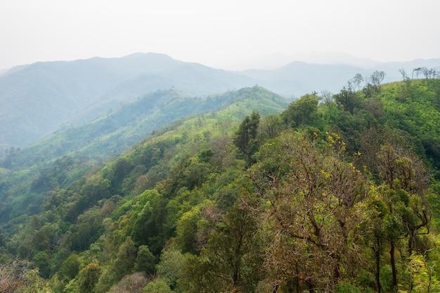 태국 깐짜나부리 산