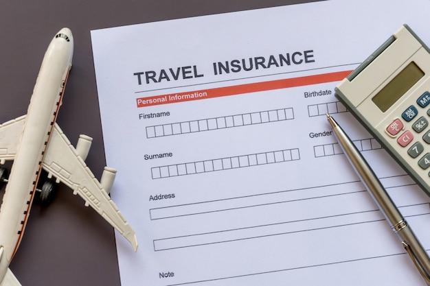 Форма страхования путешествий с образцом и полисом