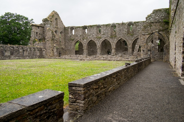 Travel in ireland. jerpoint cistercian abbey