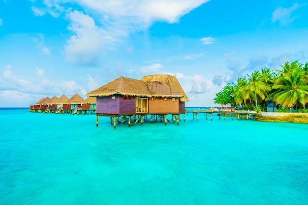 Travel maldives resort sea holiday