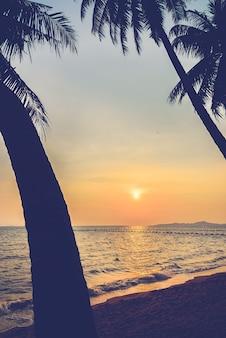 旅行海の夏ヴィンテージ光