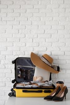 여행 가방 및 준비물 포장