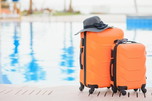 여행, 여름 휴가 및 휴가 개념
