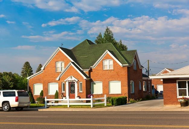 Travel village house