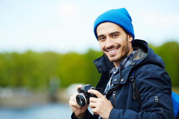 Blogger itinerante Foto Gratuite