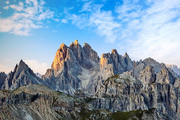 Tre cime di lavaredo peak