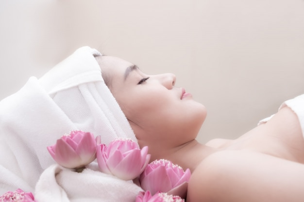 Treatment beauty spa