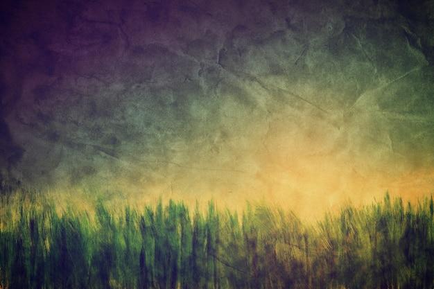 그린 나무 무료 사진