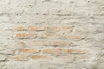 Trendy brick wall designed in the restaurant