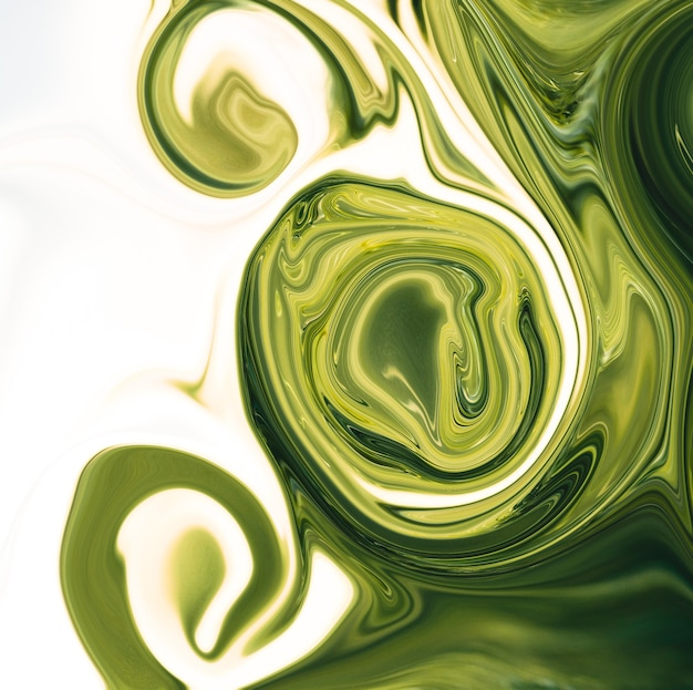 Trendy liquify abstract digital background