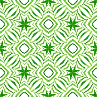 Trendy organic green border. green stunning boho chic summer design. textile ready immaculate print, swimwear fabric, wallpaper, wrapping. organic tile.