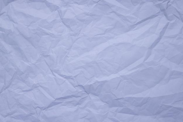 水色の流行の紙の質感のしわくちゃの紙
