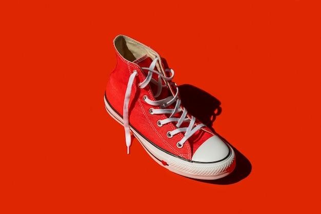 트렌디 한 여성 신발 패션 스타일 컨셉