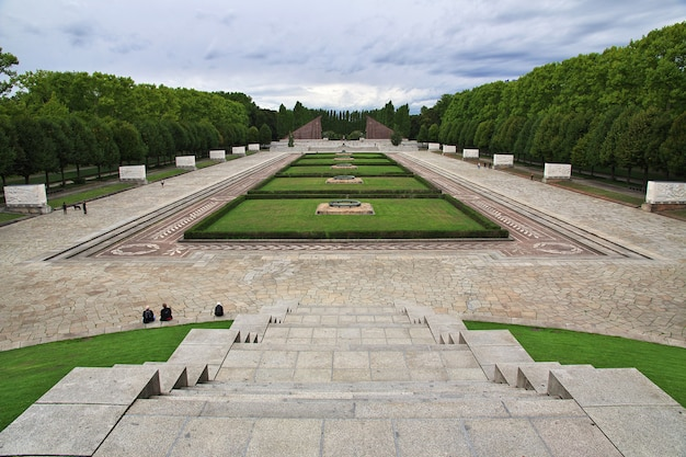 Treptow park in berlin, germany