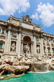 이탈리아 로마의 트레비 분수