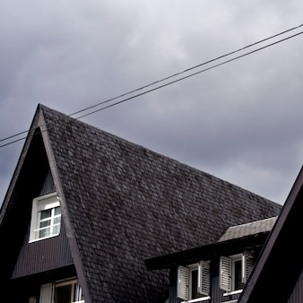 Triangle on sky