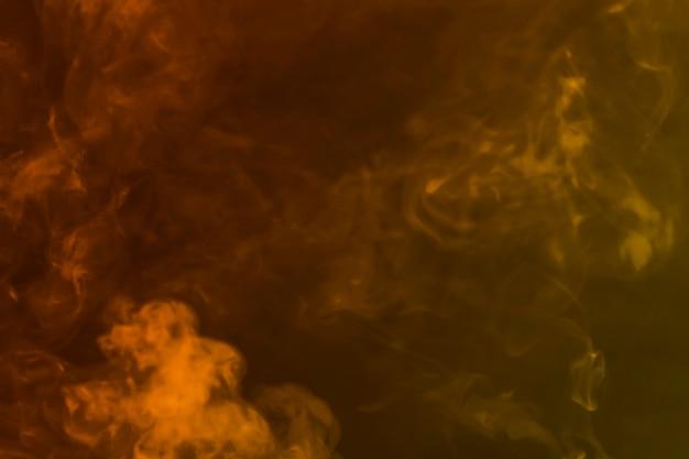 Centrifughe di fumo giallo