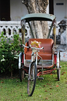 Tricycle in thailand