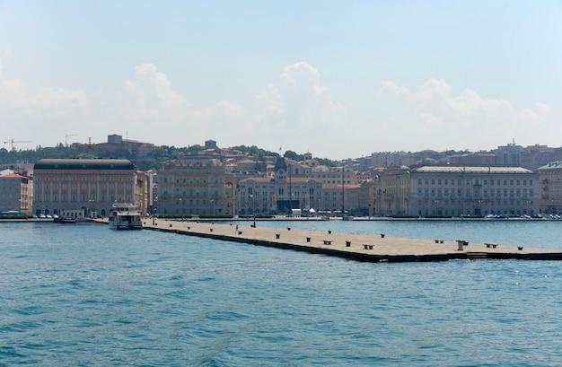 Trieste port