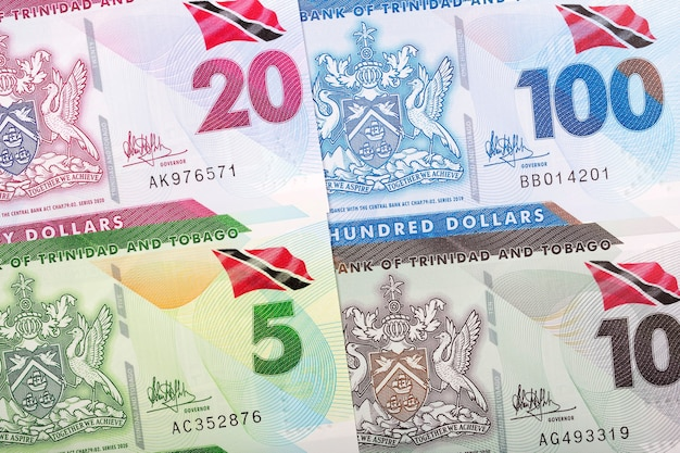 Trinidad and tobago dollar banknotes