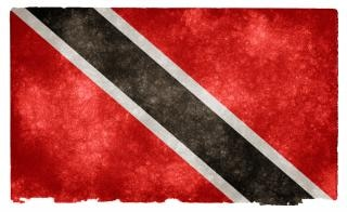 Trinidad and tobago grunge flag  decorative