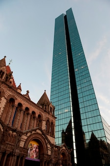 Trinity church in boston, massachusetts, usa