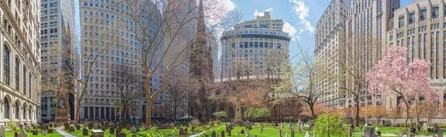 미국 뉴욕 로어 맨해튼 트리니티 교회