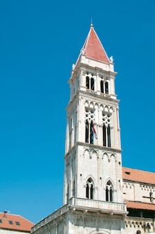 Trogir town croatia cathedral of saint lawrence landmark architecture