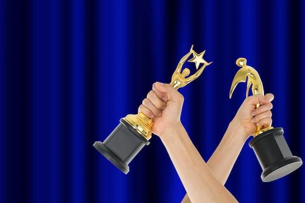 Достижение присуждения трофея, успешное в вашем бизнесе.