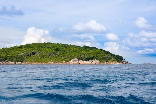 열대 해변, 시밀란 제도, 안다만 해, 태국