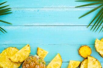 Tropical fruit composition