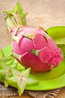 태국의 열대 과일