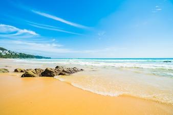 Tropical outdoor travel natural sun