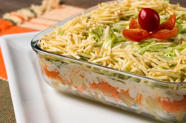 トロピカルサラダ。