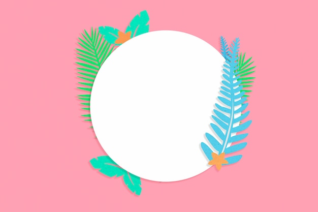 Tropical summer circle