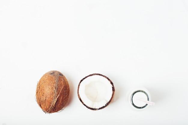 Tropical summer coconut