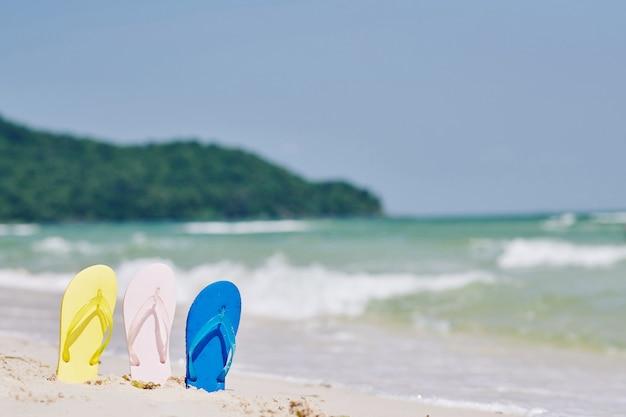 熱帯の休暇の概念