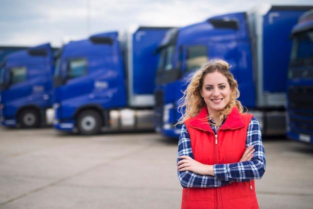 트럭 운전사 직업