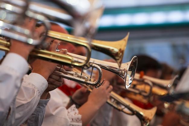Trumpets in concert, bolzano