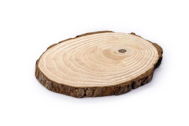 トランクリング、木で作られた手作りのプラーク、キッチンや家庭での装飾的な使用