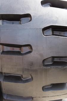 Ttruck tire texture, vertical
