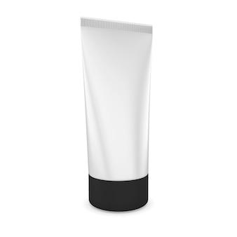 Трубка для крема, изолированные на белом