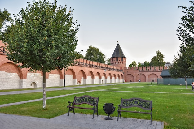 Стены тульского кремля, тульский кремль