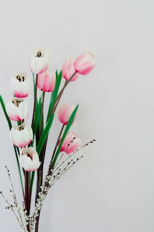 チューリップ、春
