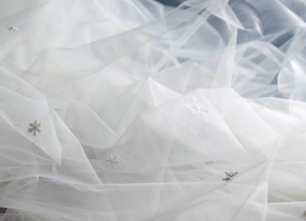 Tulle texture background