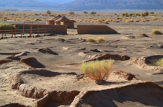 Tulor, the remains of ancient village near san pedro atacama in northern chile