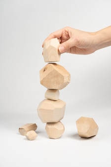 Tumi-ishi puzzle game.