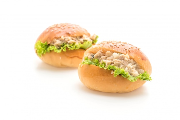 Tuna mini burger