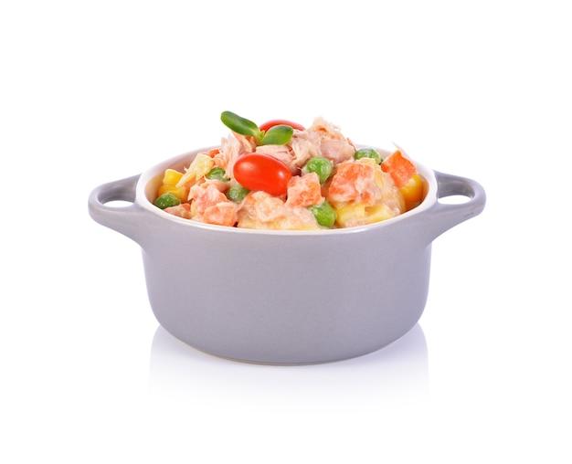 ツナサラダ Premium写真