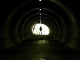 Tunnel-cowboy